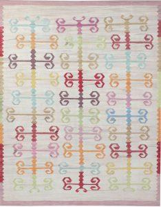 Vintage Kelim Nr. 1978, ca. 320 x 255 cm