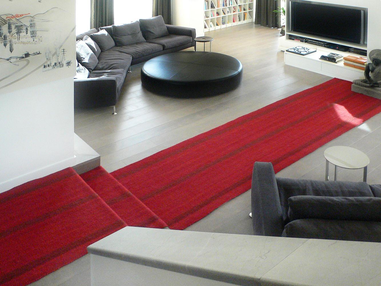 Kelim-Läufer Adana rot