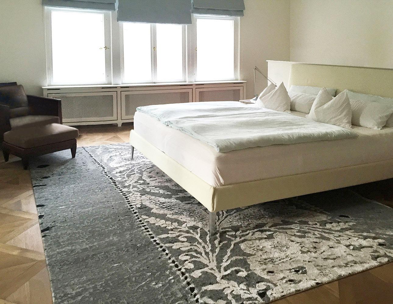 Schlafen-Teppich