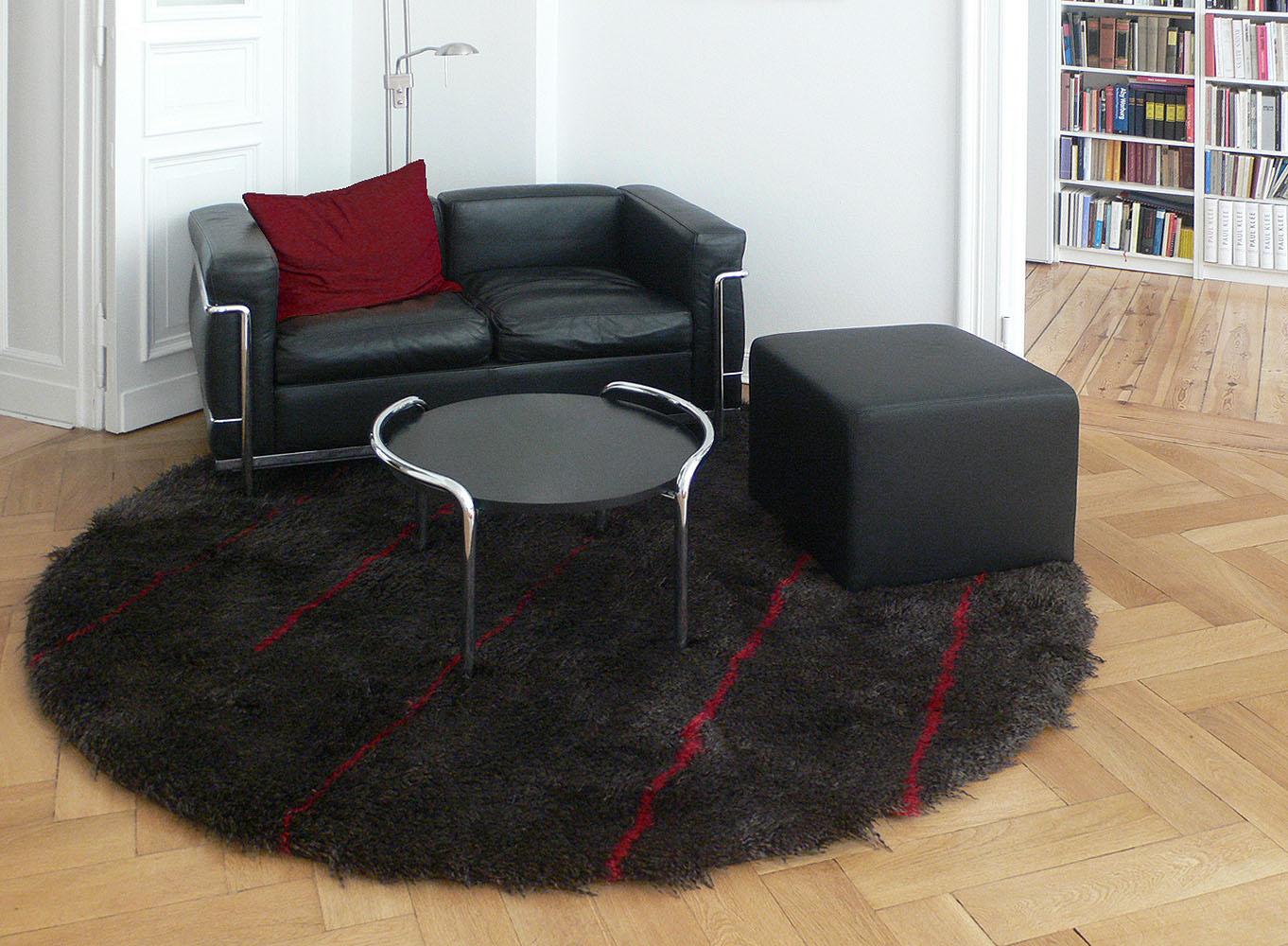 Angora-rund-schwarz